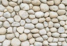 Abstract deel van een oude omheining van steen Royalty-vrije Stock Foto