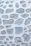 Abstract deel van een oude omheining van steen Stock Foto's