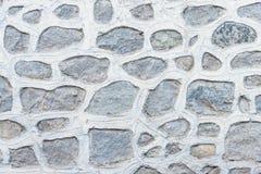 Abstract deel van een oude omheining van steen Royalty-vrije Stock Fotografie