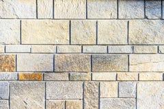 Abstract deel van een oude omheining van steen Stock Afbeelding