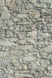 Abstract deel van een oude omheining van steen Royalty-vrije Stock Afbeelding
