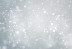 Abstract deeltje met grijze achtergrond Stock Fotografie