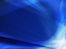 Abstract deep blue background Stock Photography