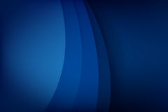 Abstract deep blue background curve and overlap layer with basic. Simply geometry vector illustration Royalty Free Stock Image