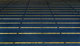 Abstract of deep blue roofs. Royalty Free Stock Photography