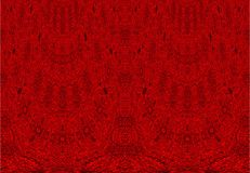 Abstract deep red curtain seamless Stock Image
