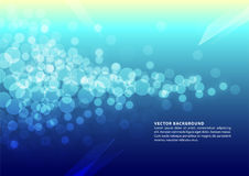 Abstract deep sea background Royalty Free Stock Photo