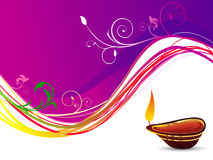 Abstract deepawali background Royalty Free Stock Photo