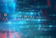 Abstract defocus digital technology background Royalty Free Stock Photos