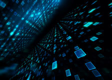Abstract defocus digital technology background Stock Photo