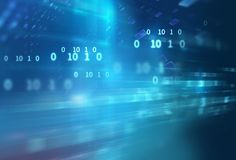 Abstract defocus digital technology background Royalty Free Stock Photo