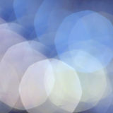 Abstract Defocused Bokeh light vintage background blue Stock Photography