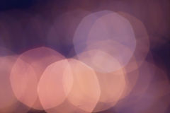 Abstract Defocused Bokeh light vintage background with red light Stock Image