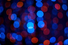 Abstract defocused lights Royalty Free Stock Photography