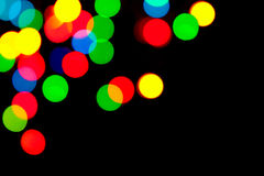 Abstract defocused lights background Stock Photography