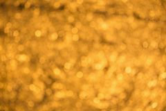 Abstract defocused orange background. Blurred circles Stock Images