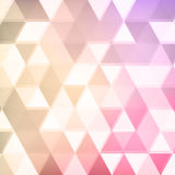 Abstract defocused triangle background Stock Photo