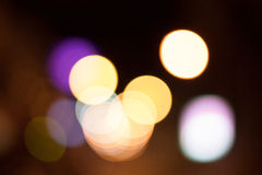 Abstract Defoucus-licht bokeh Stock Afbeeldingen