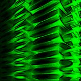 Abstract design. Abstract green texture with many wavy lines Royalty Free Stock Images