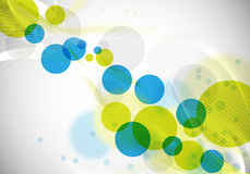 Abstract design. Abstract background design with circles Stock Image
