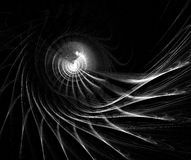 Abstract design, background. Set on black Stock Images