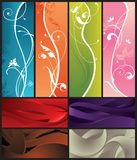 Abstract Design Background. Illustration of floral design background Royalty Free Stock Photos