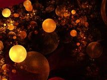 Abstract design background. Fractal illustration royalty free illustration