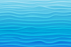 Abstract Design Background of Blue Waves Stock Photo