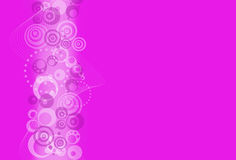 Abstract design background with  circles Royalty Free Stock Photography