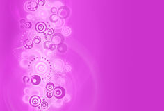 Abstract design background with  circles. Purple Abstract design background with  circles Stock Images