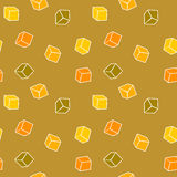 Abstract design background - cubes Royalty Free Stock Photos