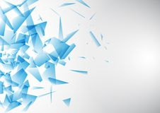 Abstract design background. Abstract background with a low poly design royalty free illustration