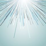Abstract design background. Abstract background with a starburst design Stock Photography