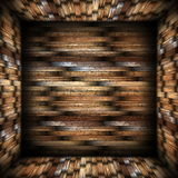 Abstract design background wood finishing Royalty Free Stock Images