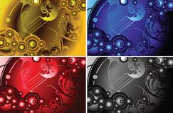 Abstract design backgrounds Royalty Free Stock Images