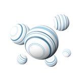 Abstract design balls Stock Photo