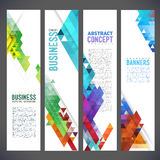 Abstract design banners vector template design Stock Images