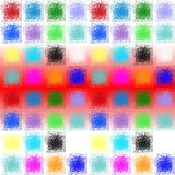 Abstract design. Blur abstract background with modern design stock illustration