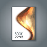 Abstract design book cover Royalty Free Stock Photo