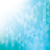 Abstract design bright background. Abstract design bright blue background Stock Images