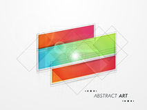 Abstract design for business infographics. Royalty Free Stock Images