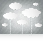 Abstract Design Clouds Royalty Free Stock Images
