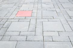 Abstract design of a cobblestone sidewalk. Stock Photography