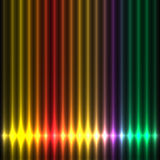 Abstract design colorful lights play Stock Photo