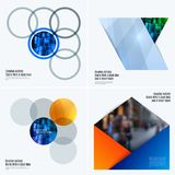 Abstract design of colourful vector elements for smooth background with round shapes rinds for business partnership. Abstract design of vector elements for Stock Photos