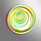 Abstract background. icon circles Royalty Free Stock Image