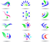 Abstract design element Royalty Free Stock Images