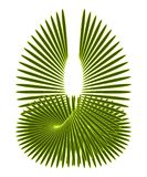 Abstract design element - in green Royalty Free Stock Photos