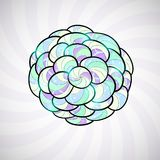 Abstract design element, illustration background Royalty Free Stock Images
