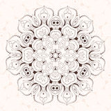 Abstract design element. Round mandala in vector. Graphic templa Royalty Free Stock Images